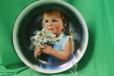 """Donald Zolan - """"For You"""" Plate - 4th in the """"Zolan's Children Plate"""" Collection"""