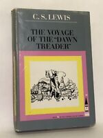 The Voyage Of The Dawn Treader Chronicles Narnia C.S. Lewis HC DJ Book 1966 7th