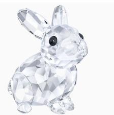 New In Box Authentic Swarovski BABY RABBIT Bunny Crystal Clear Figurine #5135942