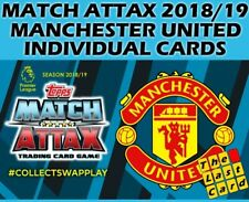 MATCH ATTAX 2018/19 MANCHESTER UNITED INDIVIDUAL CARDS 235-252 BUY 2 GET 10 FREE