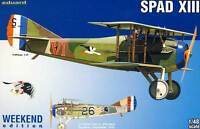 Eduard - Spad XIII Lt. Frank Luke Jr.27th Aero Squadron 1918 Model Kit 1:48