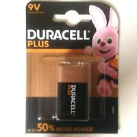 Pila 9V Duracell Plus 6LR61/MN1604 Transistor More Power 50% Durata In Più