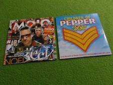 MOJO Magazine CD (lot of 2) Children Of Pepper MOJO ANTHOLOGY Beatles U2 Beck