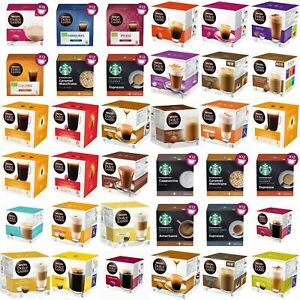 NESCAFE DOLCE GUSTO COFFEE 3 BOXES 48 CAPSULES/PODS ( 3 BOXES )