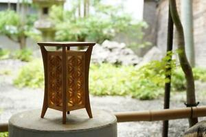 Japanese Traditional design Kumiko Table Lamp Small Square
