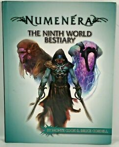 Numenera Ninth World Bestiary Fantasy RPG Roleplaying Game Book Guide Monte Cook