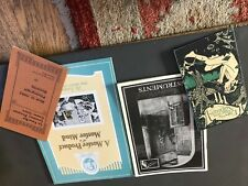 Phonograph & Gramophone booklets reproductions Edison Bell HMV