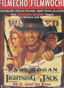 filmecho filmwoche Nr. 18 1994 Kino Poster Film Paul Hogan Lightning Jack