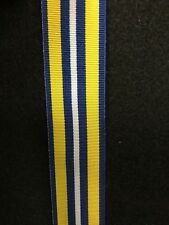 Canadian Coast Guard Exemplary Service Medal Full Size Ribbon, 40 inches