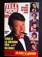 Télé Poche 16/03/1992  Les etoiles du rire/B.Reynolds