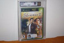 Shenmue II (Microsoft Xbox) NEW SEALED Y-FOLD W/UPC, MINT GOLD VGA 90, RARE!