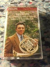 Telemann Horn Concertos Baumann St Martins in the Fields  cassette