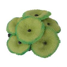 Ornamento decorativo in corallo artificiale per acquario - verde