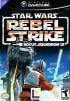 Star Wars Rebel Strike Rouge Squadron III - Nintendo Gamecube Game Authentic