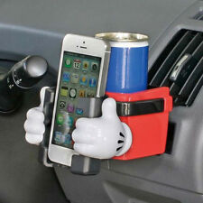 New DISNEY Mickey Mouse Cup Holder Mobile Phone Holder Car Accessories