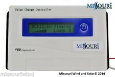 40 amp 12 / 24 Volt Auto Detect PWM Digital Solar Panel Charge Controller
