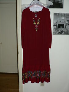 Vintage Betsey Johnson dress 1970 Alley Cat Bonwit Teller Burgundy