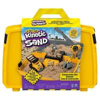 KINETIC SAND CONSTRUCTION SANDBOX