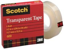 "Scotch Transparent tape measuring 3/4"" x 72 yd is designed for multipurpose 2592"