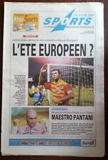 La voix des sports 17/7/2000; Intertoto/ 2éme victoire pour Pantani