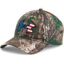 NEW Under Armour Men's Realtree Ap-Xtra Camo Big Logo 2.0 Cap Snapback Hat OSFM