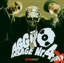 Aggro Berlin Ansage 4-Aggro Gold (2004) Sido, B-Tight, Fler, Tony D, A.I... [CD]