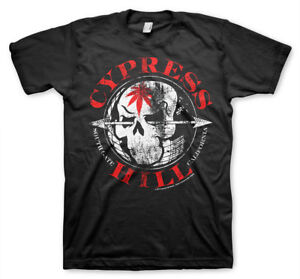 Officially Licensed Cypress Hill South Gate - California Men's T-Shirt S-XXL
