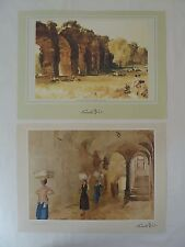 2 x Sir William Russell Flint Prints - NEW