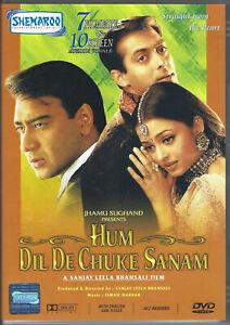 HUM DIL DE CHUKE SANAM DVD (2018) R0 (ALL) / NTSC *Aishwarya Rai *Hindi