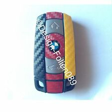 CARBON WM Colours Key Film BMW Key 1 3 5 X5 X E60 E70 E90 E91 E92 E93
