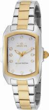 Invicta Lupah 16285 Women's White Analog Tonneau Stainless Steel Watch