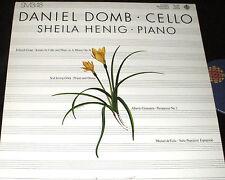 Daniel Domb CELLO  Sheila Henig PIANO Canadian Broadcasting RARE CBC LP