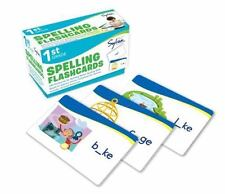 First Grade Spelling Flashcards by Sylvan Learning (English)