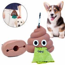 Dog Poop Bag Dispenser Ecofriendly Pet Waste Bag Holder Outdoor Portable-