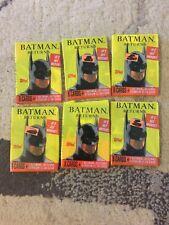 BATMAN RETURNS 1992 Trading Cards Lot Of 6 Unopened Packs