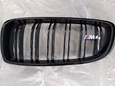 Genuine BMW F80 M3, F82 M4 Trim Grills, High-Gloss Black 51712352812/51712352811
