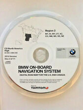 01 2002 2003 BMW X5 740i 740iL 745i NAVIGATION 2014 CD 2 CO AZ NM UT WY MT ID NE
