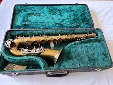 Alt Saxophon Korpus Alfredo Santoni Pare mit S-Bogen im Koffer !!!