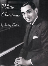 White Christmas Bing Crosby Christmas Piano Voice Guitar SONGS FABER Music BOOK