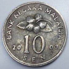 Malaysia 10 Sen 2003