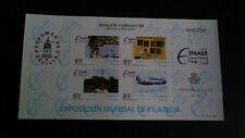 PRUEBA LUJO ESPAÑA MNH 1996 ESPAMER AVIACIÓN Y ESPACIO