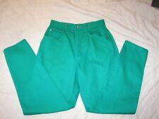 Vintage Gitano High Waist Jeans - Size 10 - Green Denim