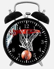 Basketball Alarm Schreibtisch Uhr 9.5cm Heim oder Büro Dekor W118 Schön für