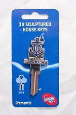 Collectable 3D House Key Blank LW4 AFL Fremantle Dockers