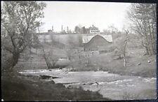 Pittsburgh Pa~1940's Fishing ~ River ~ Barn ~ Real Photo Pc Rppc