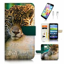( For Samsung Galaxy S7 ) Case Cover P3228 Leopard