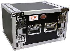 "New Pro X T-8RSS 8U Space Vertical DJ 19"" Flight Rack Case ATA 300"