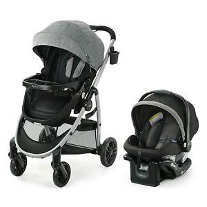 Graco Modes Pramette Travel System Baby Stroller Infant Car Seat SnugRide 35 New