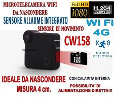 MICRO TELECAMERA C1 + SD 32 GB MINI DV WIFI 4G SENSORE ALLARME MOTION DETECTION