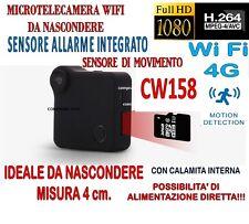 MICRO TELECAMERA C1 + SD 8 GB MINI DV WIFI 4G SENSORE ALLARME MOTION DETECTION